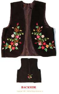 Traditional Handmade Embroidered Vests from Ukraine 1d36d5dfa